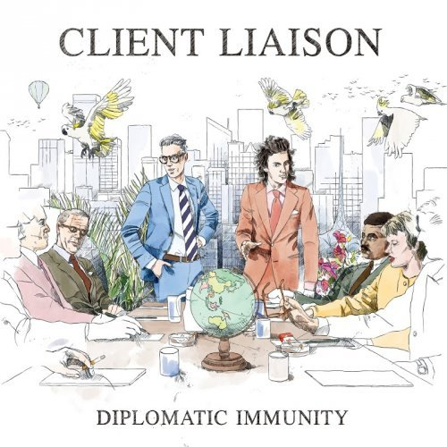 Client Liaison - Diplomatic Immunity (2016) Lossless