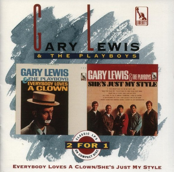 Gary Lewis & The Playboys - Everybody Loves A Clown & She's Just My Style (1992)