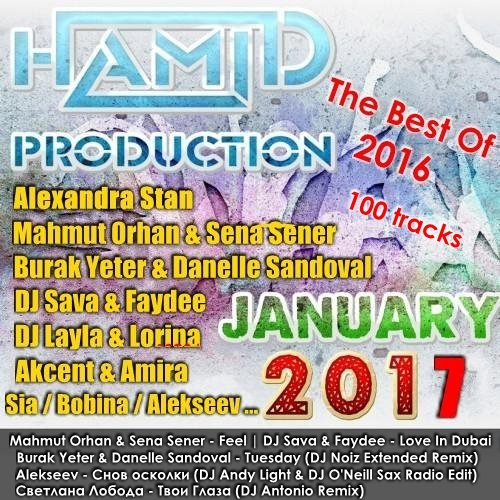 VA-Ham!d Production - The Best Of 2016 (2017)