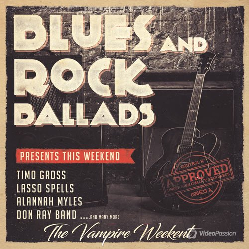 VA-Blues and Rock Ballads (2017)