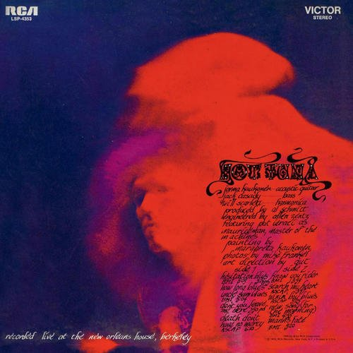 Hot Tuna - Hot Tuna [2CD Remastered Deluxe Edition] (1970/2012)