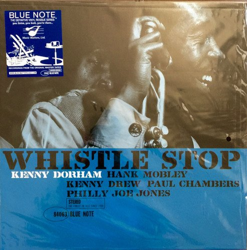 Kenny Dorham - Whistle Stop (1961) [LP Remastered 2017]