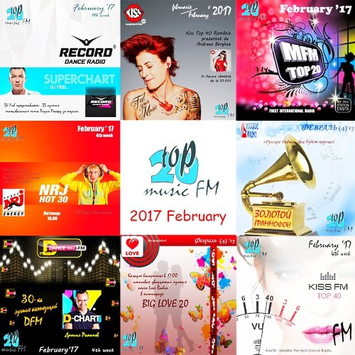 VA-Radio Top Music FM - February 2017 (2017)