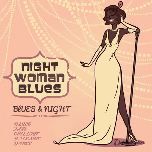 VA-Night Woman Blues (2017)