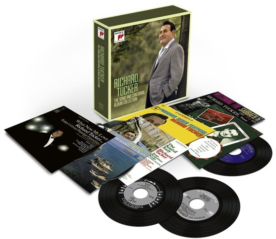 Richard Tucker - The Song & Cantorial Album Collection [14 CD Box Set] (2013) [FLAC / MP3 320 kbps]