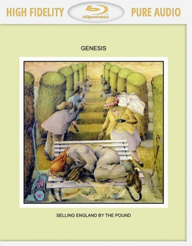 Genesis - Selling England By The Pound (1973-2014) [Blu-Ray Audio / FLAC 24 bit]