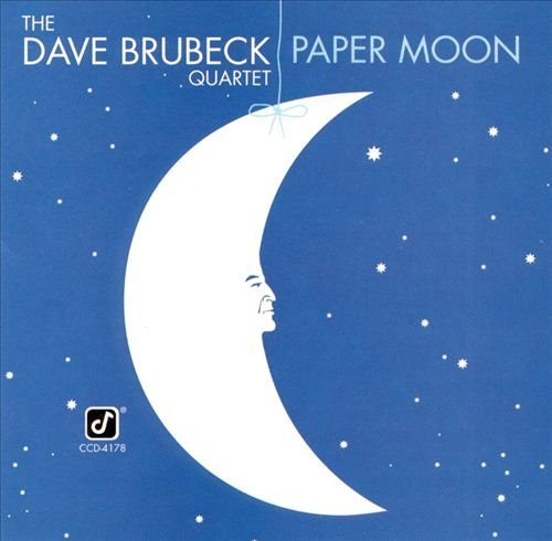The Dave Brubeck Quartet - Paper Moon (1981) [Japan LP]