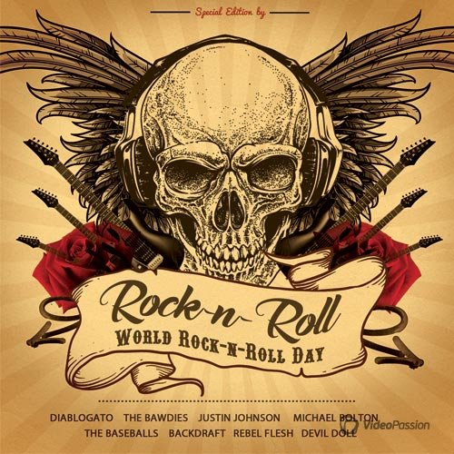 VA-Rock'n'Roll - World Rock'n'Roll Day (2017)