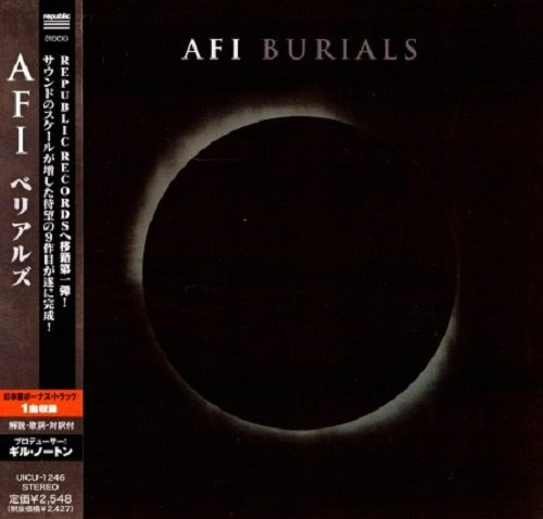 AFI - Burials (Japan Edition) (2013) lossless