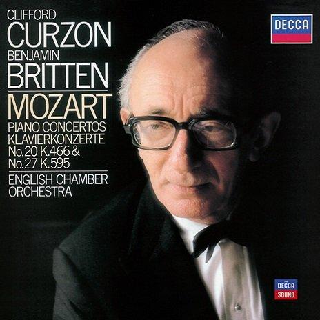 Clifford Curzon/English Chamber Orchestra/Benjamin Britten - Mozart: Piano Concertos N.20 & 27 (2011)