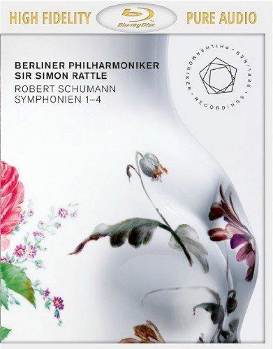 Berliner Philharmoniker, Simon Rattle - Schumann: Symphonies Nos. 1-4 (2014) [Blu-Ray Audio]