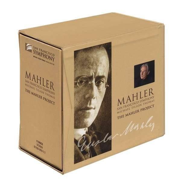 Michael Tilson Thomas, San Francisco Symphony - The Mahler Project [17 CD Box Set] (2010)