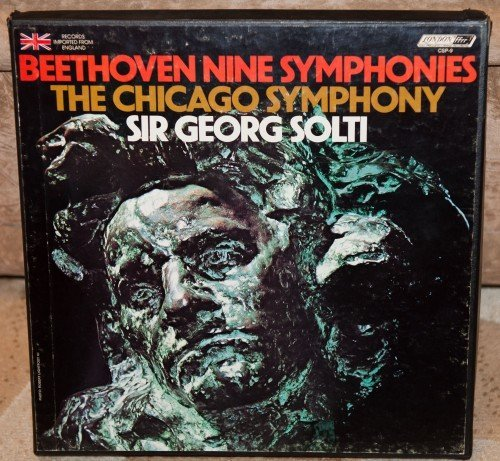 Sir Georg Solti/Chicago Symphony Orchestra - Beethoven: The Nine Symphonies (London, 1975) [9 LP Box Set] [FLAC 24 bit]