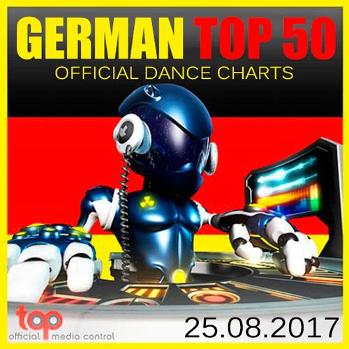 VA-German Top 50 Official Dance Charts 25.08.2017 (2017)