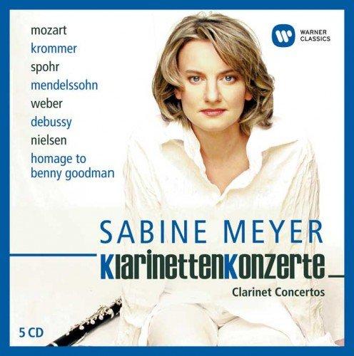 Sabine Meyer - Clarinet Concertos / Klarinettenkonzerte, Vol. II (2014) (Lossless/MP3)