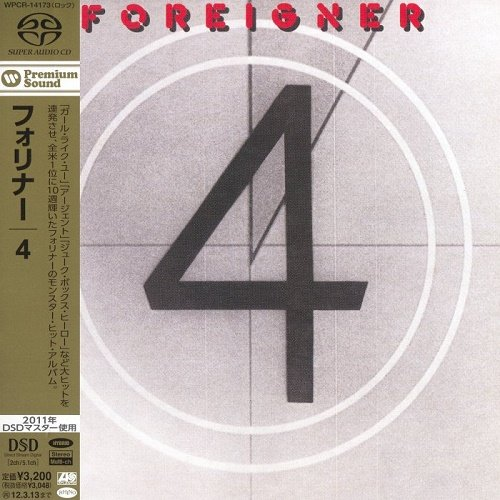 Foreigner - 4 (Japan Edition) [SACD] (2011)