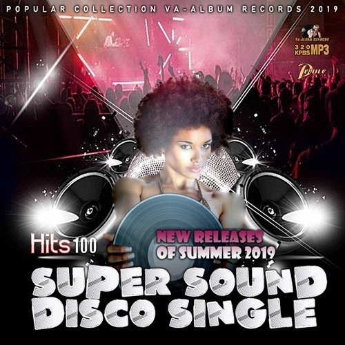 VA-Super Sound Disco Single (2019)