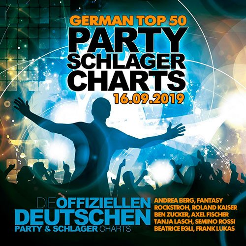 VA-German Top 50 Party Schlager Charts 16.09.2019 (2019)