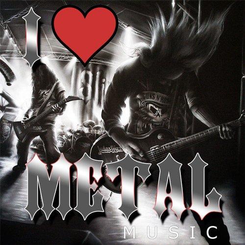 VA-I Love Metal Music (2019)