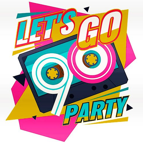 VA-Lets Go Party Time 90s (2019)