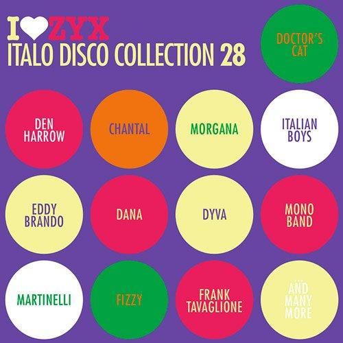 VA-I Love ZYX Italo Disco Collection 28 (2019)