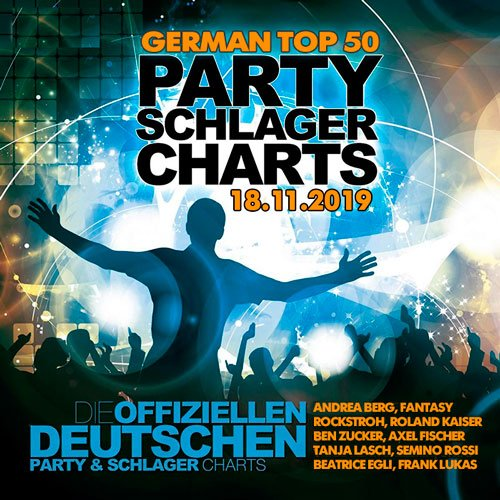 VA-German Top 50 Party Schlager Charts 18.11.2019 (2019)