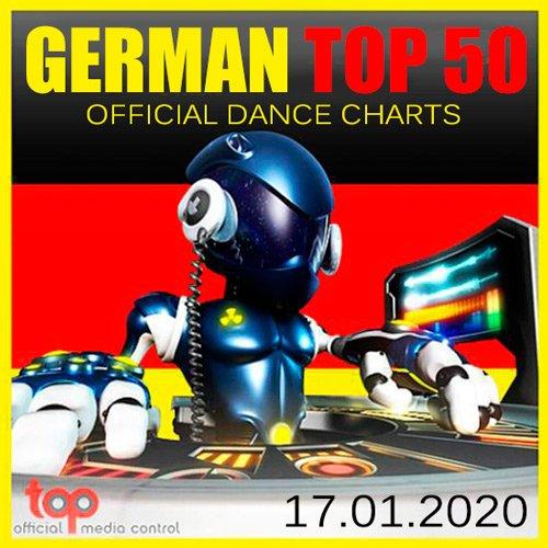 VA-German Top 50 Official Dance Charts 17.01.2020 (2020)
