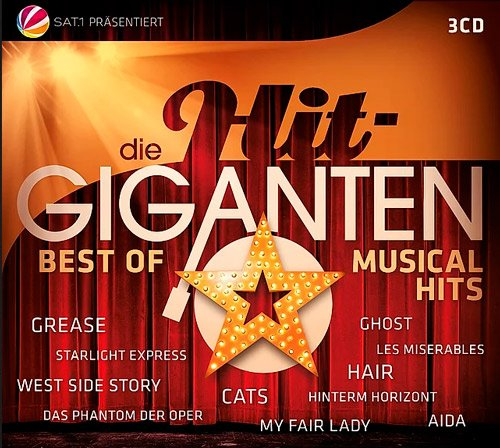VA-Die Hit Giganten - Best Of Musicals (2020)