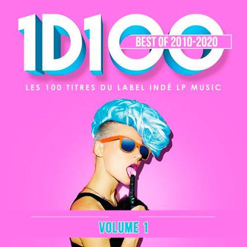 VA-1D100 Best Of 2010 2020 - Volume 1 (Les 100 Titres Du Label Inde Lp Music) (2020)