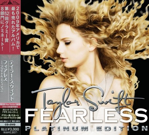 Taylor Swift - Fearless (Japan Edition) (2010) lossless