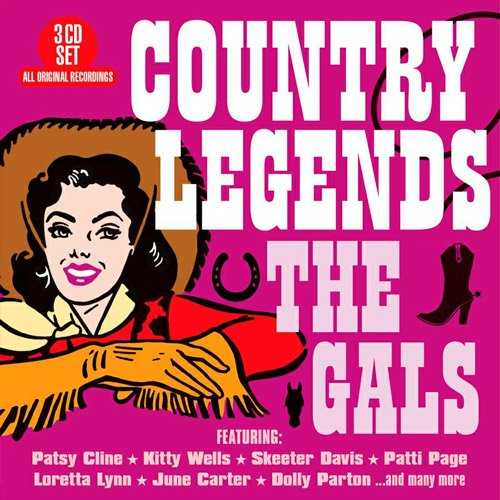 VA-Country Legends - The Gals (2020)