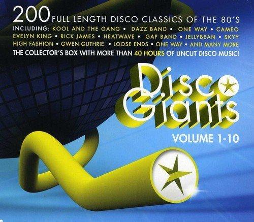 VA - Disco Giants Volume 1-10 (2013)