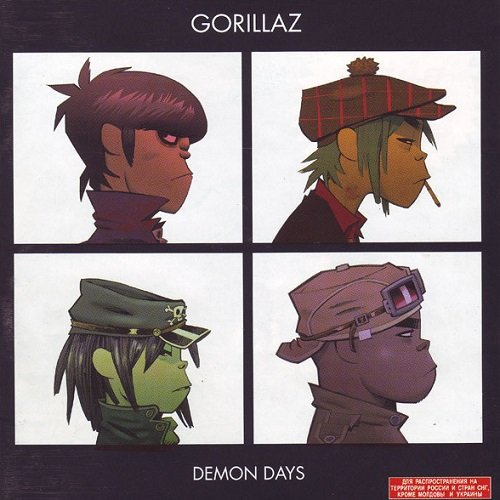 Gorillaz - Demon Days (2005) lossless