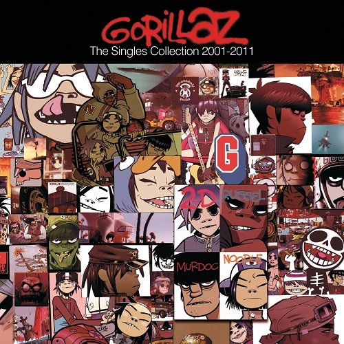 Gorillaz - The Singles Collection 2001 - 2011 (2011) lossless