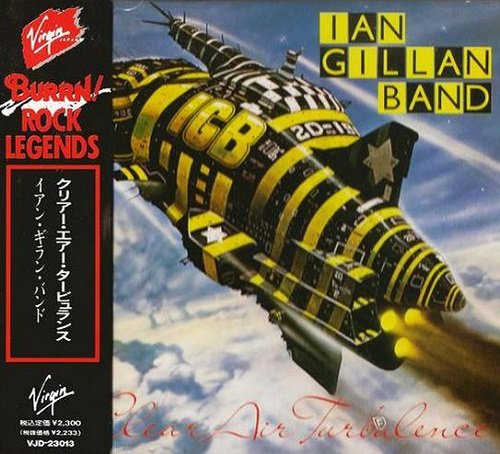 Ian Gillan Band - Clear Air Turbulence (Japan Edition) (1989) lossless