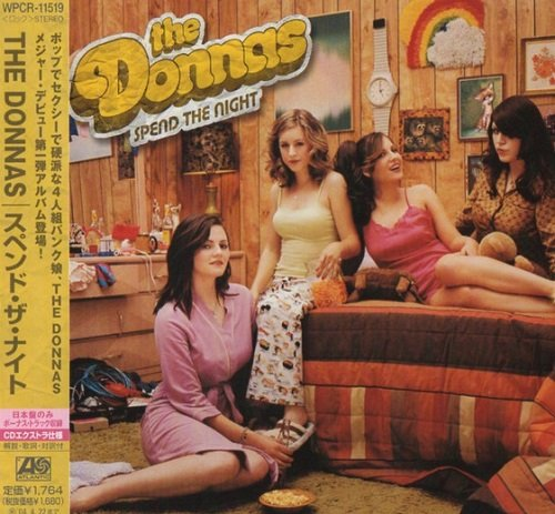 The Donnas - Spend The Night (Japan Edition) (2003) lossless