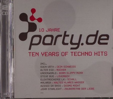 VA-10 Jahre Party De: Ten Years of Techno Hits (2CD) (2006)