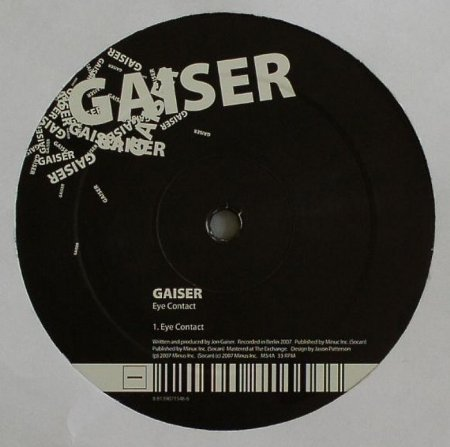 Gaiser - Eye Contact - (MINUS54)-EP (2007)