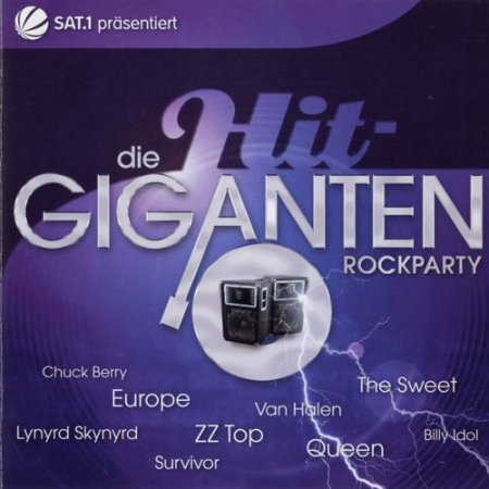 VA-Die Hit Giganten-Rockparty (2008)