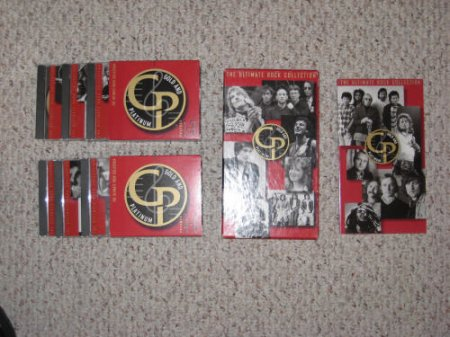 The Ultimate Rock Collection Gold & Platinum 1964-1995 (BOX SET) 1997