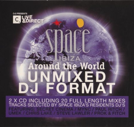 VA-Space Ibiza - Around The World (Unmixed DJ Format) (2010)