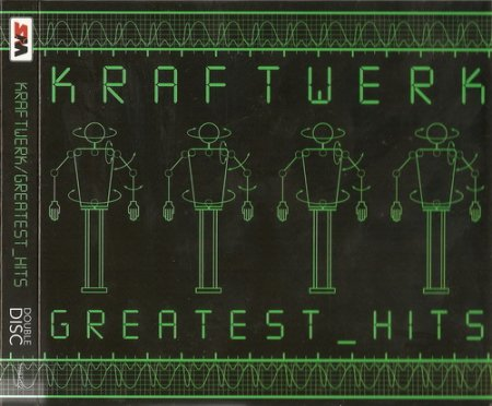 Kraftwerk - Greatest Hits [2CD, Star Mark Compilation] (2008)