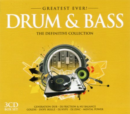 Greatest Ever! Drum & Bass The Definitive Collection