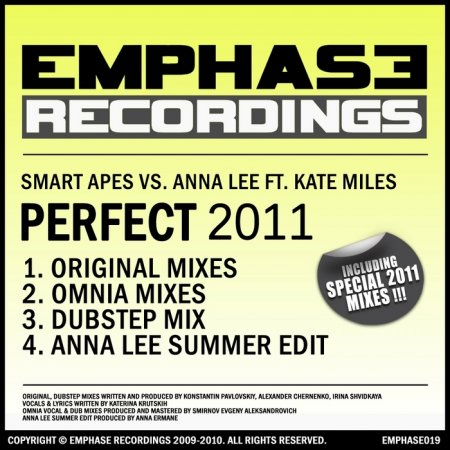 Smart Apes Vs Anna Lee Feat Kate Miles - Perfect 2011 (2010)