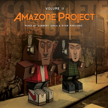 VA-Amazone Project Vol 2 (Mixed by Sunnery James and Ryan Marciano) (2011)