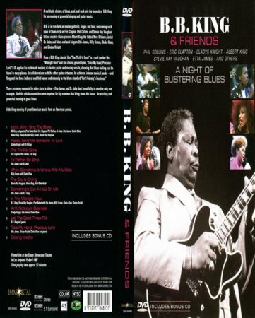B.B. King & Friends - A Night Of Blistering Blues (1987) DVDRip