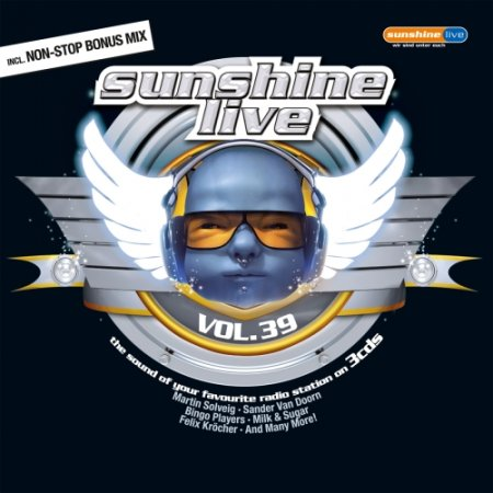 VA - Sunshine Live Vol.39 (3CD) (2011)