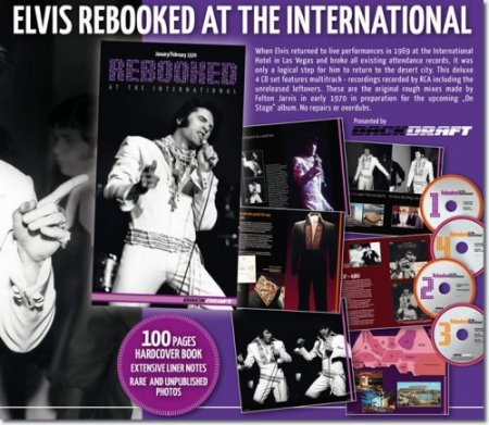 Elvis Presley - Rebooked At The International (4 CD Box Set) (2011)