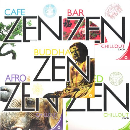 VA-Zen Chillout - Collection: vol.1-5 (2008)