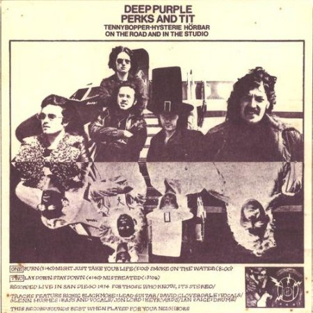 Deep Purple - Perks And Tit 1974 (2004)